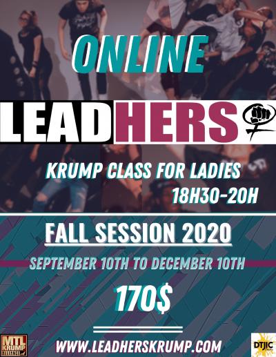 LeadHers Krump classs fall 2020-online