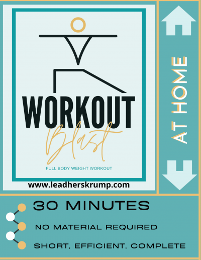 WORKOUT BLAST AT HOME
